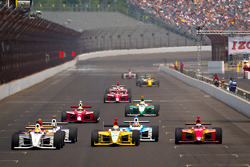 Victor Carbone, Sam Schmidt Motorsports, Gustavo Yacaman, Team Moore Racing, Carlos Munoz, Andretti Autosport