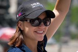Indy 500 festival parade: Katherine Legge, Dragon Racing Chevrolet