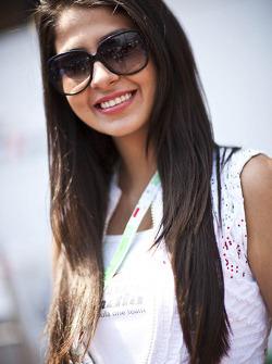 Sahara Force India F1 Team girl