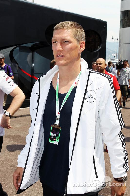Bastian Schweinsteiger, Football Player in the paddock