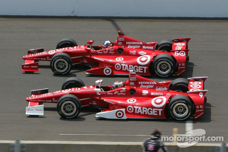 2012: Indy-500-Sieg zum 50-jährigen Jubiläum von Target