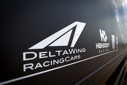 Highcroft Racing Delta Wing Nissan transporter