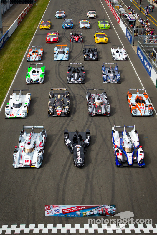 Wagens groepsfoto