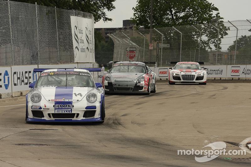 James Sofronas, Porsche 911 GT-3 Cup Tomy Drissi, Porsche 911 GT-3 Cup Anders Hainer, Audi R8