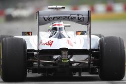 Pastor Maldonado, Williams leaves the pits
