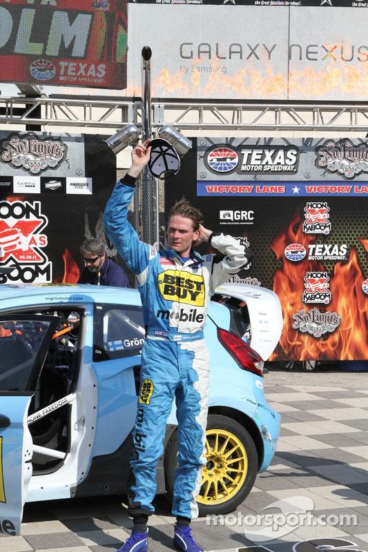 Race winnaar Marcus Gronholm
