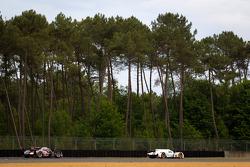 #17 Pescarolo Team Dome Judd: Nicolas Minassian, Seiji Ara, Sébastien Bourdais, #4 Audi Sport North America Audi R18 Ultra: Oliver Jarvis, Marco Bonanomi, Mike Rockenfeller