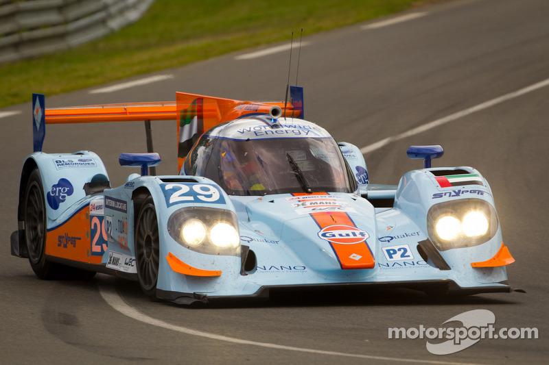 #29 Gulf Racing Middle East Lola B12/60 Coupe Nissan: Keiko Ihara, Jean-Denis Deletraz, Marc Rostan