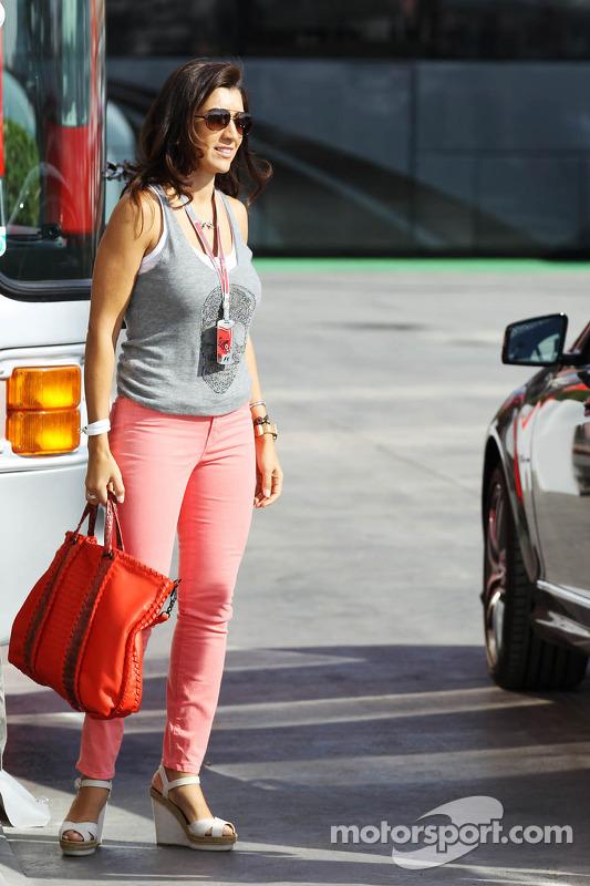 Fabiana Flosi, verloofde van Bernie Ecclestone, CEO Formula One Group