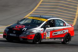 #71 Compass 360 Racing Honda Civic Si : Todd Lamb