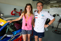 Winners of the Malaysian Super Series race two weeks ago: Cyndie Allemann and Samson Chan