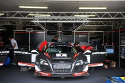 #1 Belgian Audi Club Team WRT Audi R8 LMS ultra: Christopher Haase, Christopher Mies, Stephane Ortelli