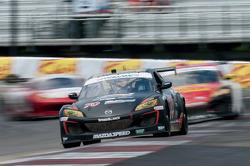 #70 SpeedSource Mazda RX-8: Jonathan Bomarito, Sylvain Tremblay