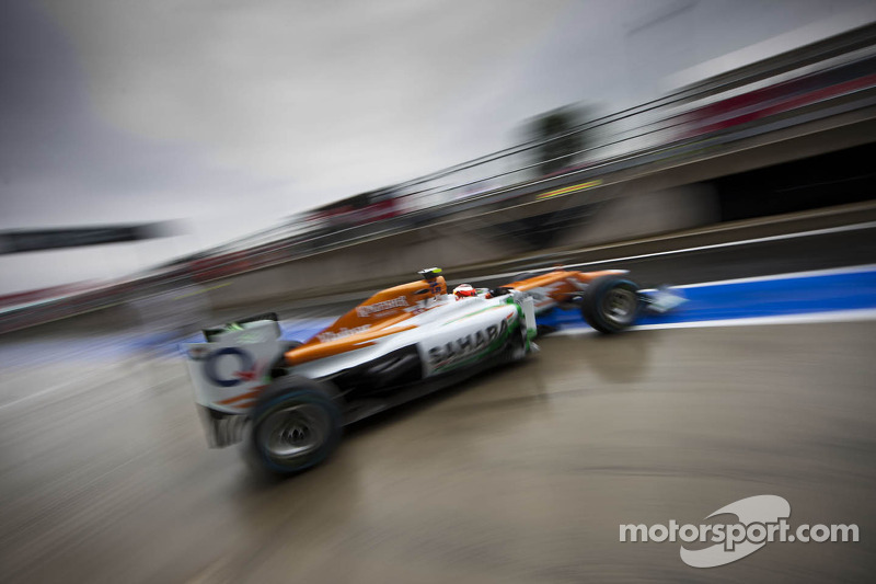 Jules Bianchi, Sahara Force India F1 Team derde rijder verlaat pits
