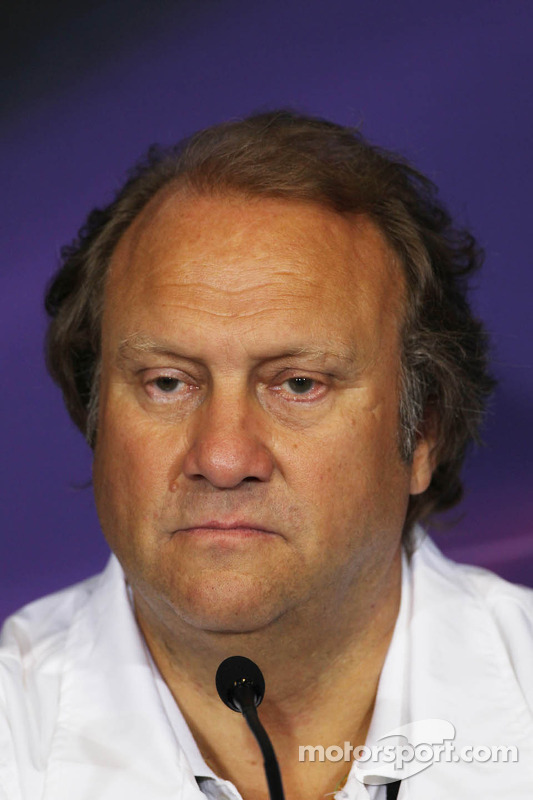 Bob Fernley, Sahara Force India F1 Team Deputy Team Principal in the FIA Press Conference