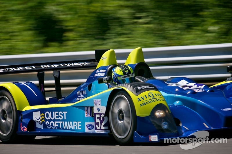 #52 PR1 Mathiasen Motorsports  Oreca FLM09 Chevrolet: Butch Leitzinger, Ken Dobson