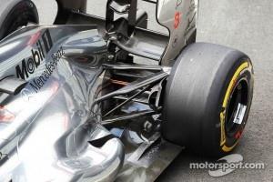 McLaren rear suspension detail