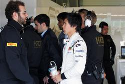 Ma Qing Hua, Hispania Racing F1 Team, Test Driver