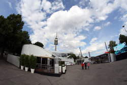 The DTM Hospitality in the paddock