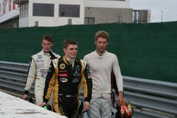 Конор Дэли, Джефф Архейн и Джош Уэбстер. GP Masters, картинки.