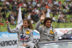 Susie Wolff, Persson Motorsport, AMG Mercedes C-Coupe Roberto Merhi, Persson Motorsport AMG Mercedes C-Coupe