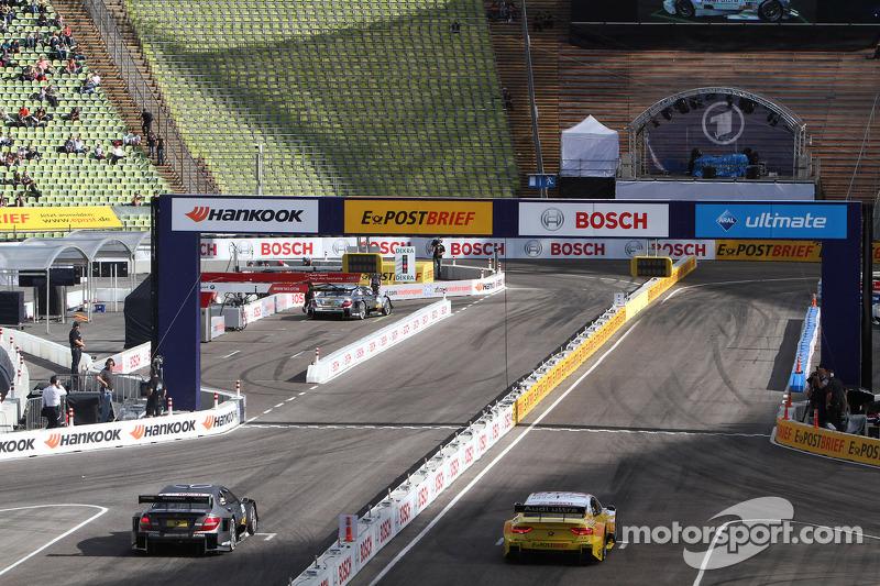 Timo Scheider, ABT Sportsline Audi A5 DTM Adrien Tambay, Audi Sport Team Abt Audi A5 DTM and Ralf Sc