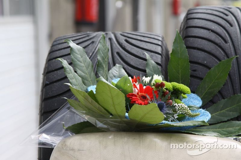 Winner's bouquet