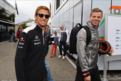 Jenson Button, McLaren met Mike Collier, Personal Trainer