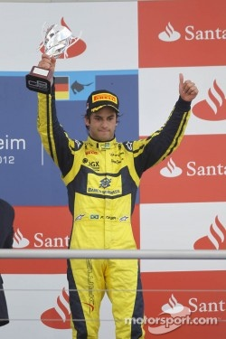 Podium: third place Felipe Nasr