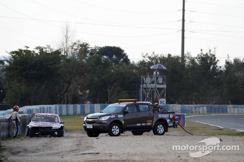 Crash, Charles Ng, BMW 320 TC, Liqui Moly Team Engstler