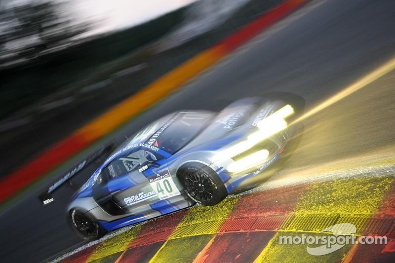 #40 Sainteloc Racing Audi R8 LMS ultra: Grégory Guilvert, Dino Lunardi, Filipe Albuquerque