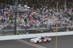 White flag for Brad Keselowski