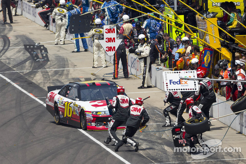 Greg Biffle, Roush Fenway Racing Ford en Jack Roush