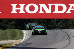 #01 Extreme Speed Motorsports Ferrari F458 Italia: Scott Sharp, Johannes van Overbeek, #02 Extreme Speed Motorsports Ferrari F458 Italia: Ed Brown, Guy Cosmo