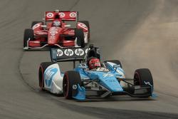 Simon Pagenaud, Schmidt-Hamilton MotorsportsScott Dixon, Target Chip Ganassi Honda