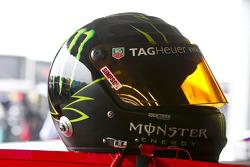 Helmet of Kurt Busch, Phoenix Racing Chevrolet