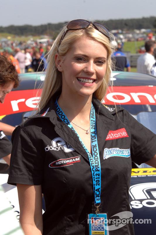 Redstone Racing Gridgirl