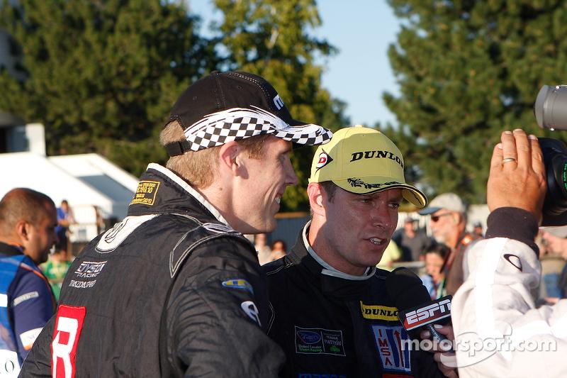 Race winners Chris Dyson, Guy Smith