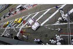 Andy Priaulx, BMW Team RBM BMW M3 DTM, pit lane