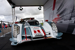 #1 Audi Sport Team Joest Audi R18 e-tron quattro on display