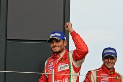 Giancarlo Fisichella and Gianmaria Bruni