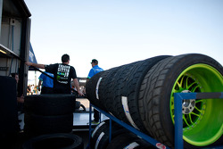 Tires are ready