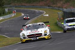 #6 ROWE Racing Mercedes SLS AMG GT3: Michael Zehe, Christian Bracke