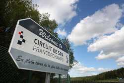 Sign from the circuit