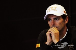 Pedro De La Rosa, HRT Formula 1 Team in the FIA Press Conference