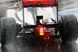 Jenson Button, McLaren achtervleugel