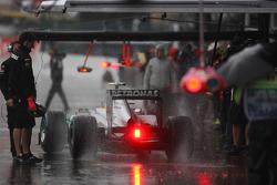 Nico Rosberg, Mercedes GP in the rain