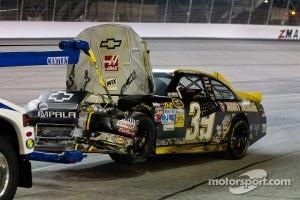 Trouble for Ryan Newman, Stewart-Haas Racing Chevrolet