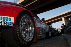 #45 Flying Lizard Motorsports Porsche 911 GT3 RSR: Jörg Bergmeister, Patrick Long