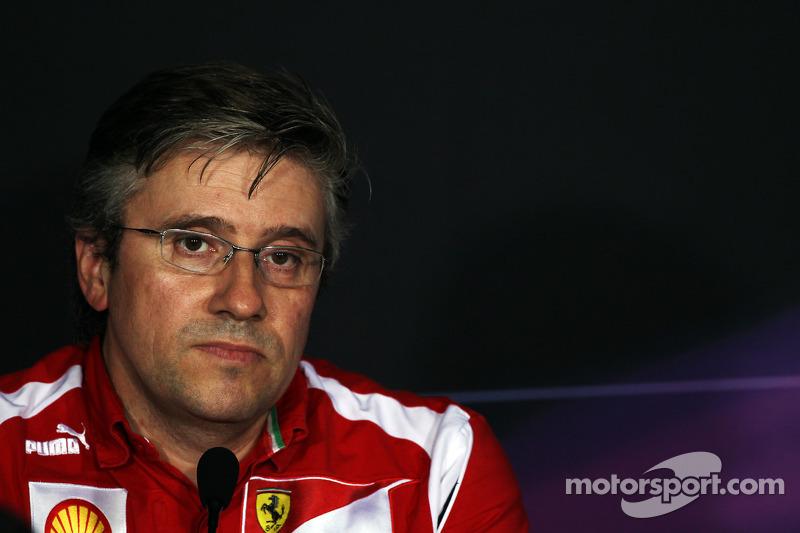 FIA persconferentie: Pat Fry, Ferrari Deputy Technical Director en Head of Race Engineering